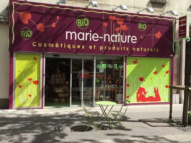 Marie Nature commercialise les cosmétiques guérande