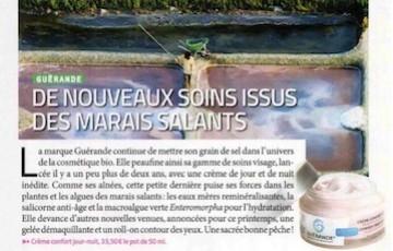 FEMME ACTUELLE JEUX : Guérande met son grain de sel dans la Cosmétique bio !