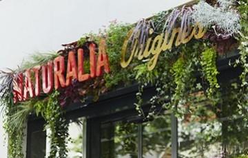 Les Cosmétiques Guérande en street-marketing dans les magasins Naturalia Origines