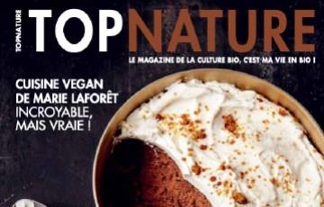 Dans le magazine TOP NATURE retrouvez un focus sur la Gelée démaquillante.