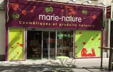 La boutique MARIE NATURE conquise par les Cosmétiques Guérande !