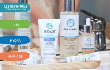 Les gammes de produits Guérande Cosmetics