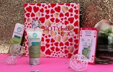 Les cosmétiques Guérande dans la BIOTYFULL BOX L'AMOUREUSE